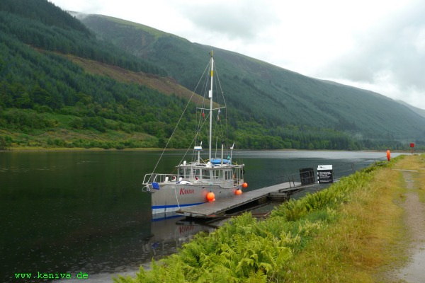 Kaniva im Caledonian Canal / GB